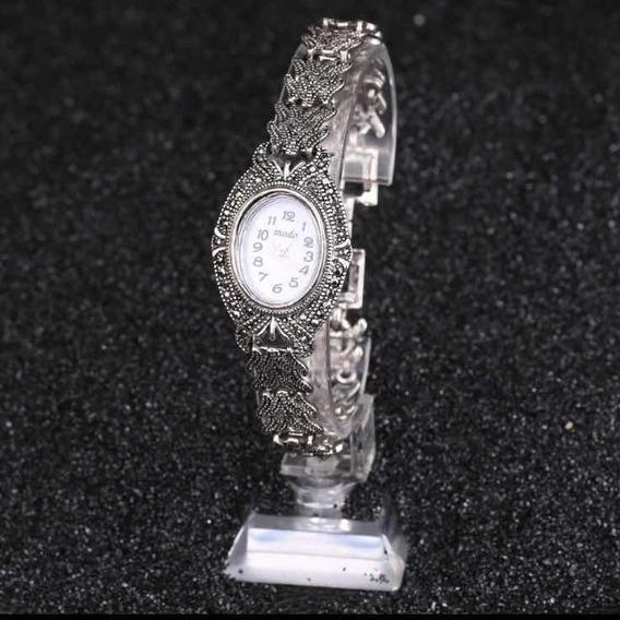 Relógio Marcassita Prata Antiga 088