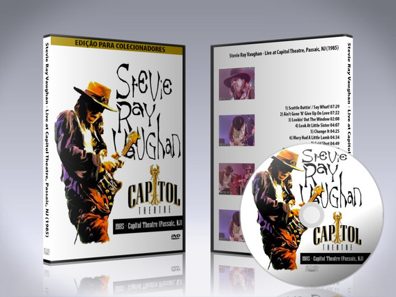 Dvd Stevie Ray Vaughan - Live At Capitol Theatre 1985 Usa