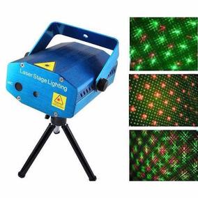 Mini Laser Stage Lighting Projetor Holográfico