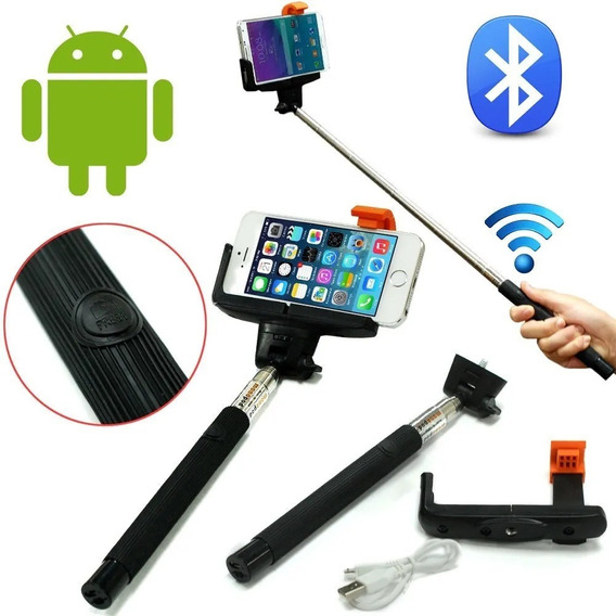 Kit 3 Paus De Selfie - Wireless/bluetooth - iPhone & Galaxy