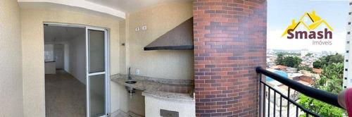 Apartamento Com 2 Dormitórios À Venda, 61 M² Por R$ 370.000,00 - Jardim Aida - Guarulhos/sp - Ap0444