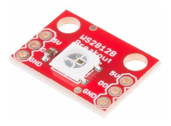 4 X Led Rgb Endereçavel Ws2812 Arduino - 0091