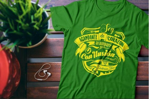 Camiseta Desbravadores Soy Acampante