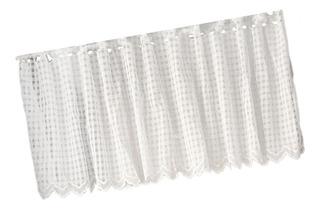 Panel Drapeado Para Cortina De Encaje Y Crochet, 45 X 150 Cm