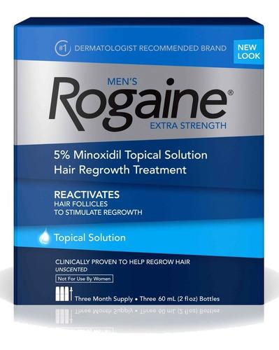 Imagen 1 de 9 de Men´s Rogaine 5% Tópico Three Month Supply