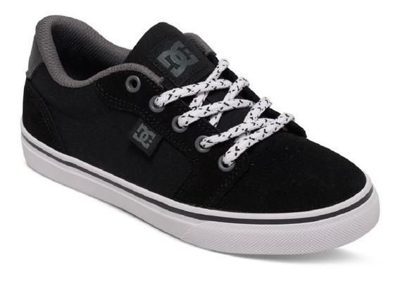 Dc Shoes Anvil Negro Niño Dama Converse Vans Keds Dvs Conver