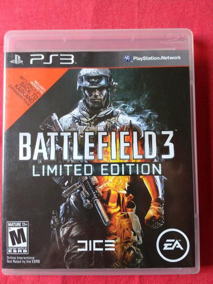 Jogo Battlefield 3 Limited Edition Ps3 Fisica Frete:r$10
