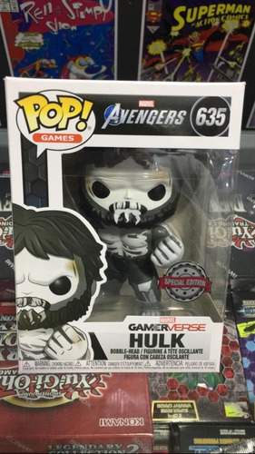 Funko Pop! Marvel Avengers - Hulk #635 - Original