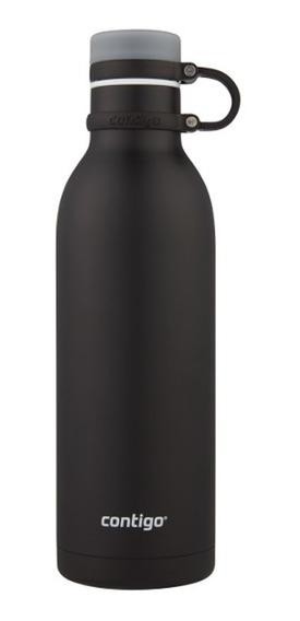 Botella De Acero Inox Matterhorn Negro Mate 946 Ml Contigo