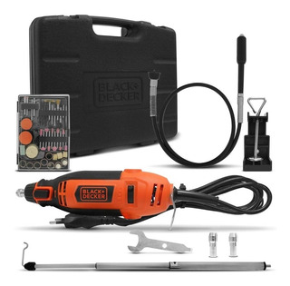 Kit Micro Retífica C/ 113 Acessórios Rt18ka Black Decker