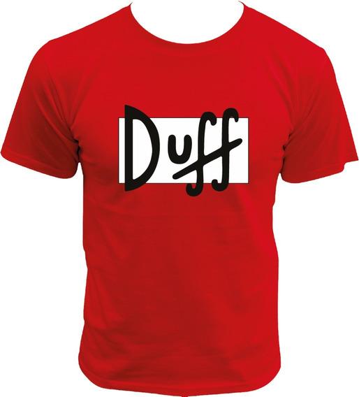 Playera De Cerveza Duff Los Simpson