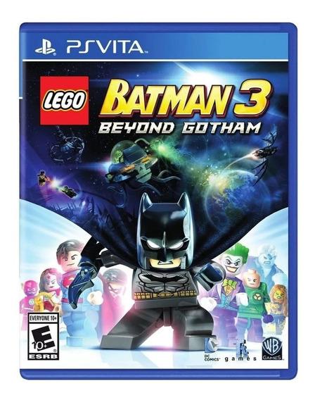 Jogo Lego Batman 3 Beyond Gotham - Ps Vita