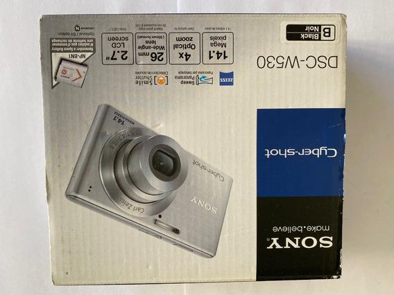 Camera Digital Sony Dsc-w530 Na Caixa