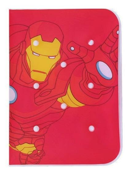 Caderno Capa De Almofada Homem De Ferro - Marvel Miniso