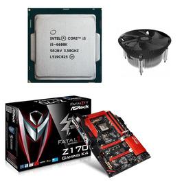 Kit Gamer I5 6600k Placa Asrock Fatal1ty Z170 1151