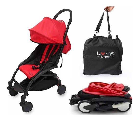 Coche Paseo Smart Love 1004 Bolso Ultraplegable Apto Avion