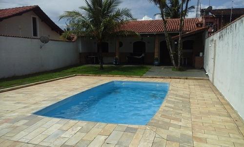 Casa Com Piscina Itanhaem Cod: 066