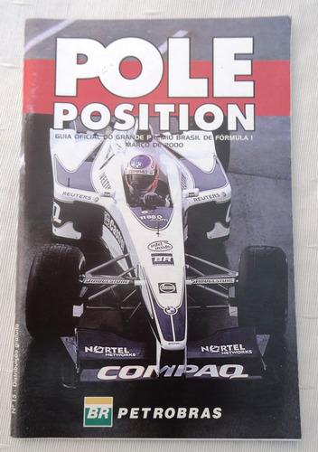Pole Position Nº 15 Guia Oficial Gp Brasil F 1 Barrichello