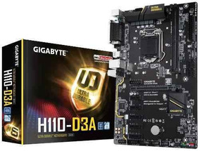 Gigabyte Mineracao Ga H110 D3a Ddr4 1151 Bitcoin Ethereum