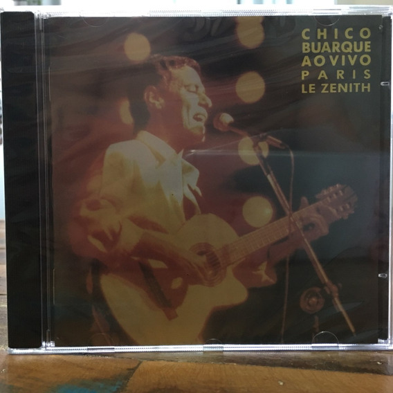 Cd Chico Buarque Ao Vivo Em Paris Le Zenith