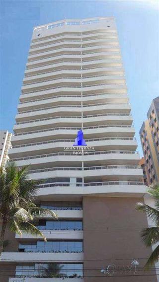 Apartamento Com 3 Dorms, Aviação, Praia Grande - R$ 981 Mil, Cod: 322 - V322