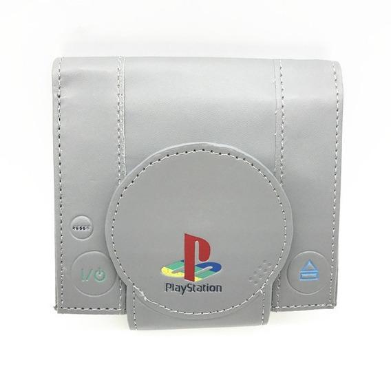 Billetera Consola Playstation 1 Gris Tremenda