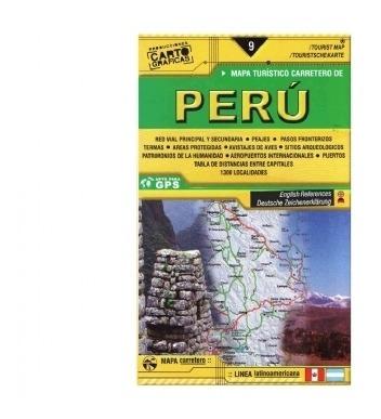 Mapa Rodoviário Perú