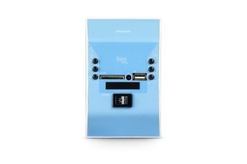 Amplificador De Parede Slim Wall Azul.