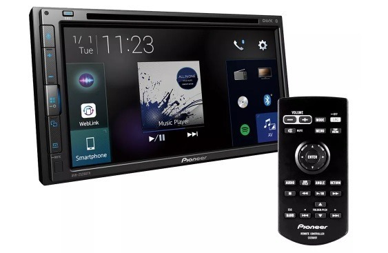 Dvd Pioneer Avh-z5280tv Usb Weblink Youtube Tv 6,8