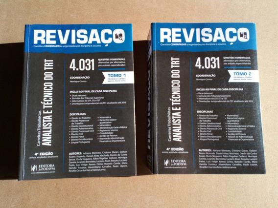 Fretegráts Livro Revisaço Analista Técnico D Trt Tomo 1 E 2