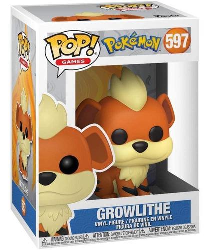Funko Pop Pokemon Growlithe