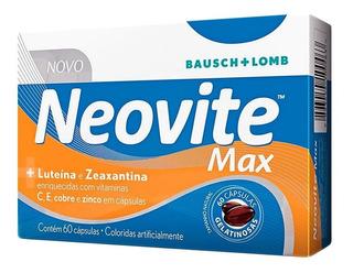 Neovite Max Com 60 Cápsulas Gelatinosas