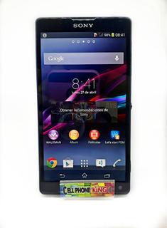 Sony Xperia Zl. 2gb Ram Y 16 Gb Rom, 4g Lte, Camara 13 Mpx.