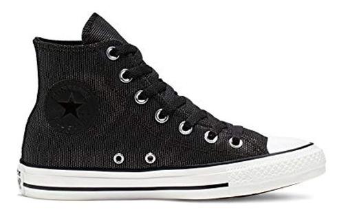 Zapatillas Converse Mujer Ctas Hi Blanco / Negro