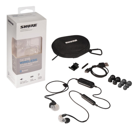 Novo Shure Se215 Bt1 Wireless - Bluetooth Com Microfone
