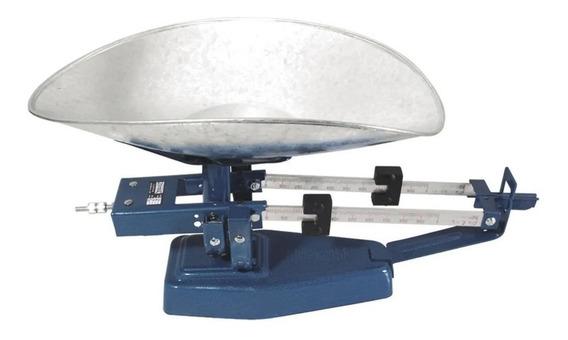 Báscula comercial analógica Nuevo Leon L-3 5kg azul martillado