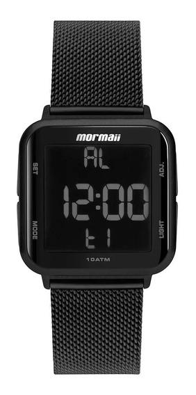 Relógio Mormaii Preto Wave Unissex Mo6600ag/8p