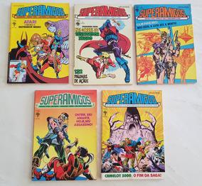 Lote Superamigos Editora Abril 2, 3, 5, 6, E 7
