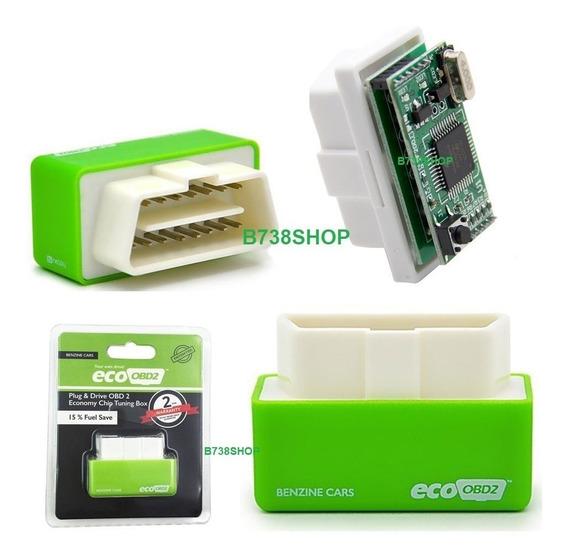 Eco Obd2 Chip Carros Flex Gasolina Econômia Combustível 2pla