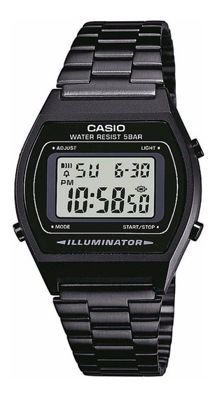 Relogio Casio B640 Wb-1adf Cronômetro Timer Alarme Wr-50 M P