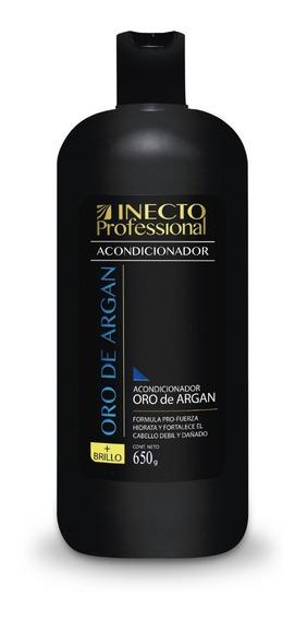 Acondicionador Inecto Professional Oro De Argan X 650ml
