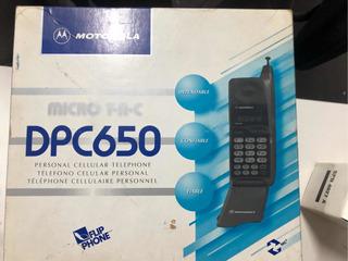 Celular Motorola Dpc 650 Na Caixa Com Todos Os Acessórios
