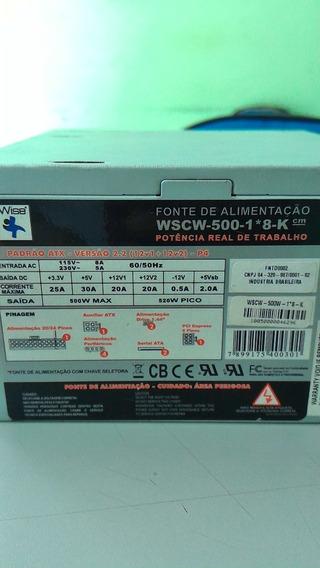 Fonte De Alimentação Wscw -500-8-8k