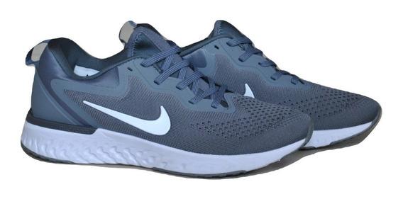 Kp3 Zapatos Caballeros Nike Odyssey React Gris Blanco
