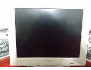 Monitor Philips 15 Lcd -brilliance 150p2-vga/dvi-blanco