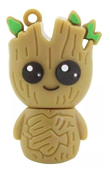 Pendrive 32 Gb Marvel Baby Groot Guardiões Da Galaxia .