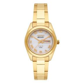 Relógio Orient Feminino 559gp009 B3kx Dourado Automático