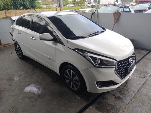 Imagem 1 de 9 de Hyundai Hb20s 1.6aut Premium 2019 Sucata Para Peças