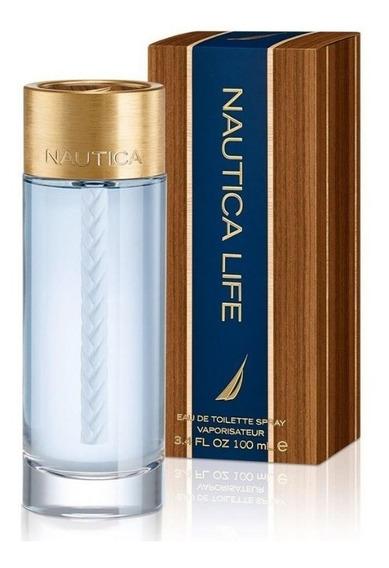 Nautica Life Perfume Para Hombre Nuevo 3.4oz 100ml Fragancia