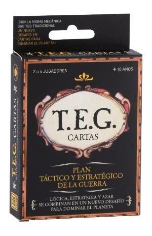 Teg Cartas - Juego De Mesa